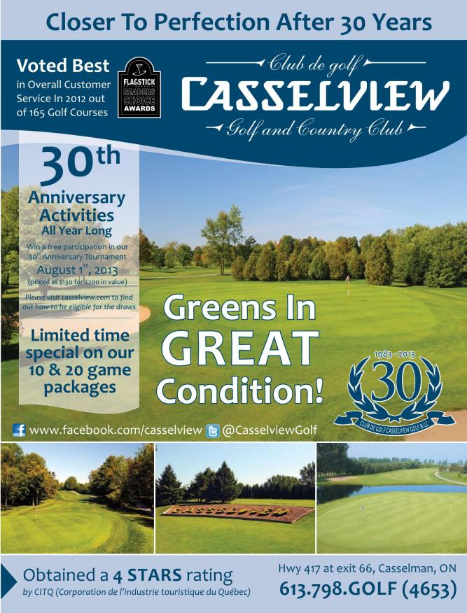 Flagstick Golf Magazine | May 2013