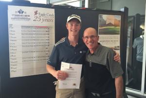 Jake Bryson wins a spot in the Canadian Amateur (Photo: Darren Pang, Twitter)