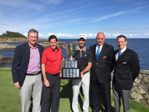 Martc-Etienne Bussieres wins the PGA Championship of Canada (Photo: PGA of Canada)