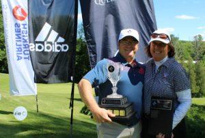 Sebastien Levasseur and Marie-Thérèse Torti win 2016 Quebec Mid-Amateur titles (Photo: Golf Quebec)