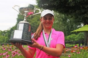 Chloe Currie is looking to repeat at Ontario Junior Girls' Golf Championship (Photo: Golf Ontario)
